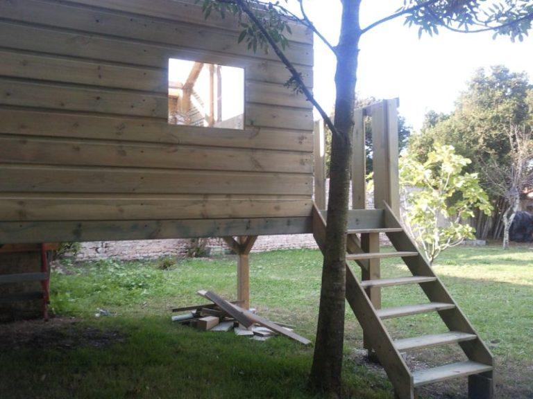 Cabane en bois La Rochelle